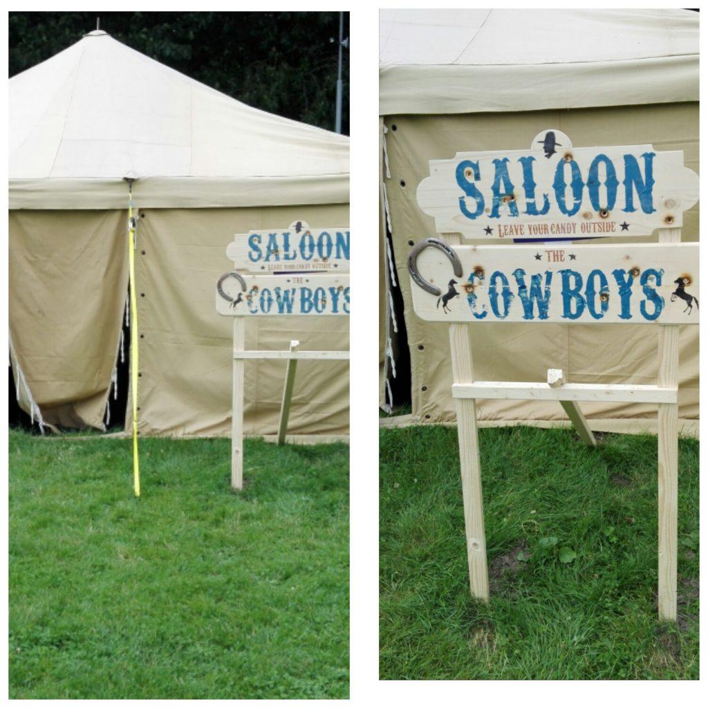 Tent van de Cowboys
